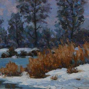 Winter On The Sula River