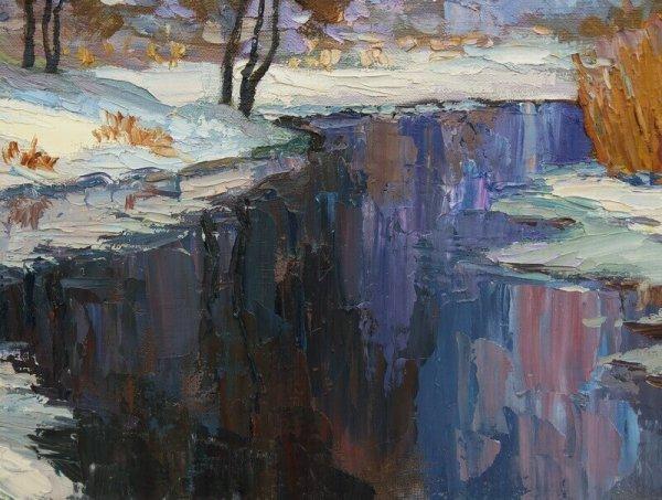 Winter Landscape On Sula River